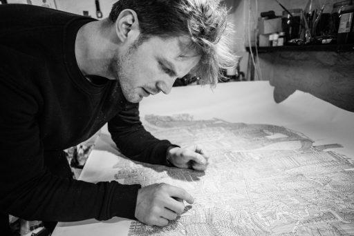 Daniel van der Noon bei der Arbeit (c) Alexandre Archimbaud