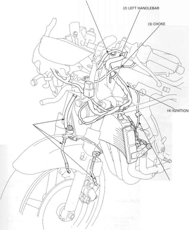 1988 cbr 600 engine diagram Honda CBR 600 Specifications