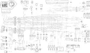 Wiring Diagram  Honda CBR 600 f4I  Kappa Motorbikes