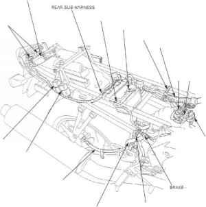 Cable Harness Routing  Honda CBR 600 f4I  Kappa Motorbikes