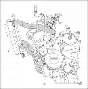Cooling System Diagrams  Yamaha R6  Kappa Motorbikes