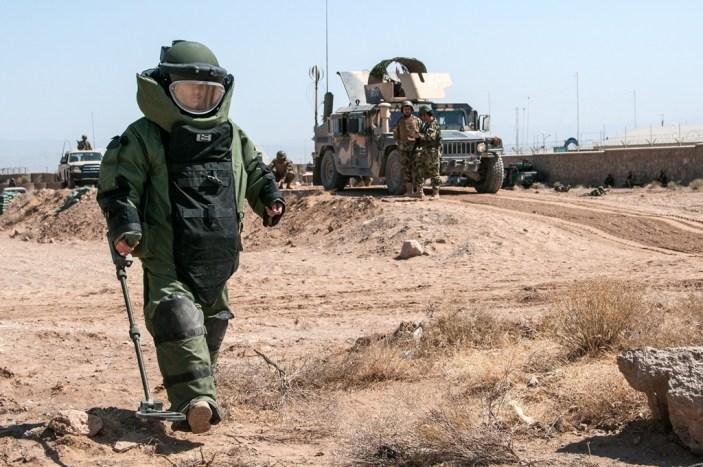 Le forze di sicurezza nazionali afgane organizzano corsi per istruttori nella lotta agli IED