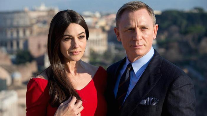 """Spectre 007"", Monica Bellucci è la quinta bond girl italiana"