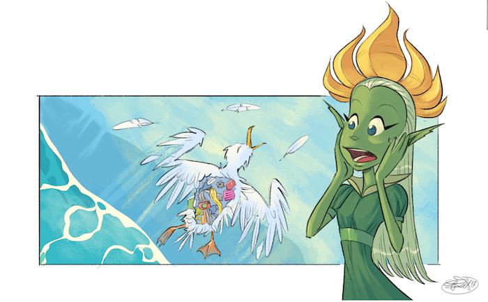 """A Comicon 2018 la """"Principessa Primula"""", il fumetto didattico per bambini a tutela del Cilento"""
