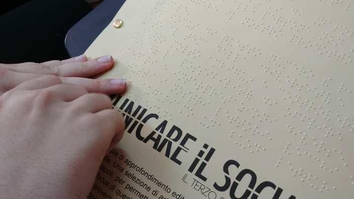 Comunicare il Sociale, ecco la versione in braille