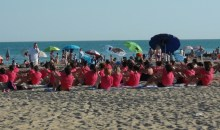 Street workout diventa beach workout a Jesolo