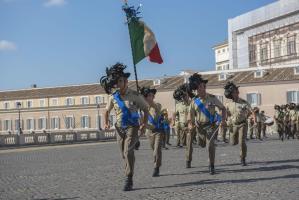 """I bersaglieri della Garibaldi al Quirinale per i 148 anni della """"Breccia di Porta Pia"""""""