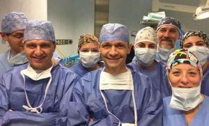 Padova, Salvato da cancro al fegato inoperabile