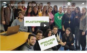 CIAK SI SCIENZA si unisce al movimento #Fridayforfuture