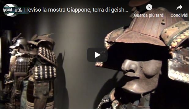 A Treviso la mostra Giappone, terra di geisha e samurai