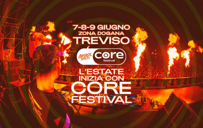 Anche Salmo, J-AX+Articolo31 e Calcutta al Core Festival Aperol Spritz