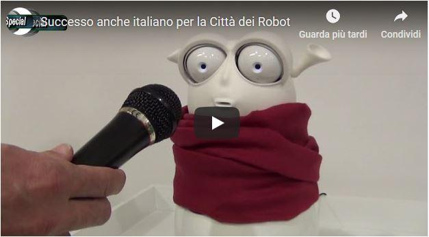 Successo anche italiano per la Città dei Robot