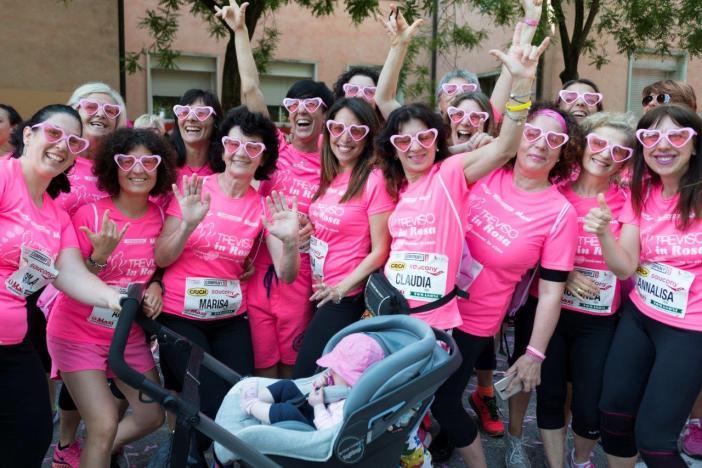 Ecco Treviso in rosa. Domenica di corsa tra sport e solidarietà