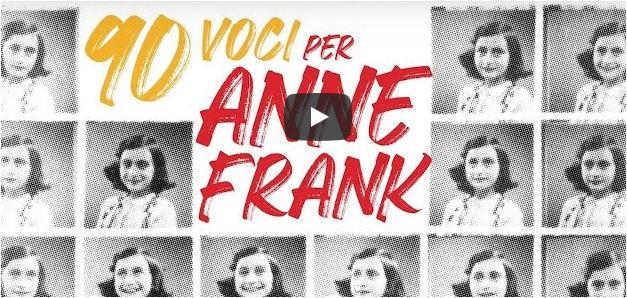In diretta da Venezia i 90 anni di Anna Frank