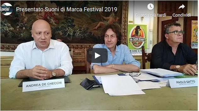 Presentato Suoni di Marca Festival 2019