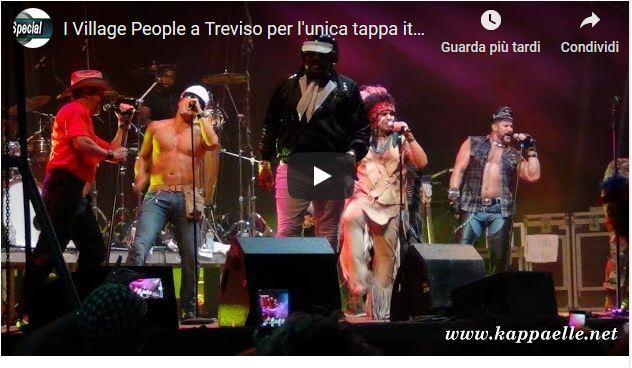 I Village People fanno tappa unica a Treviso