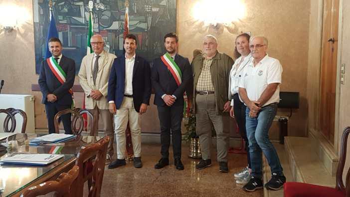 Campionato italiano di canoa sul lago di Revine (TV)