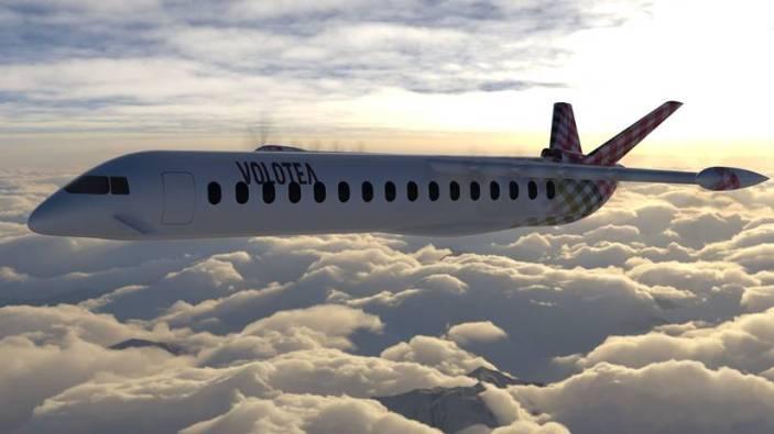 VOLOTEA supporta l'avvenieristico aereo ibrido-elettrico