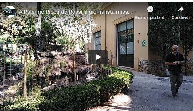 A Palermo Riccardo Rossi, il giornalista missionario