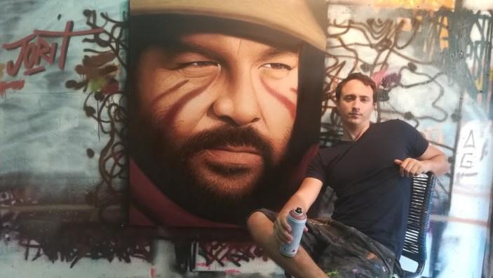 Al via la raccolta di fondi per il murales di Bud Spencer