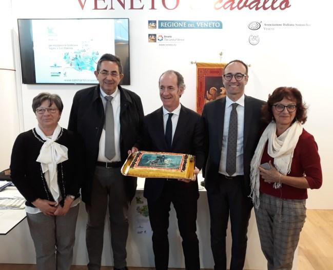 Presentato a Fieracavalli il progetto dell'Unpli Veneto