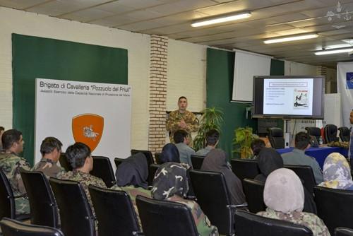 Missione in Afghanistan: corsi per le Forze Armate afgane
