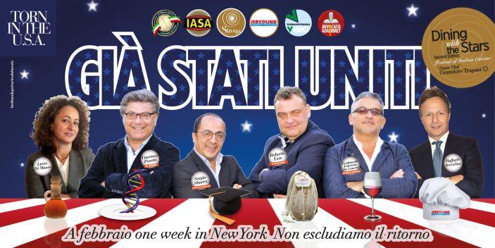 Il Festival della Cucina Italiana in USA con Provolone del Monaco Dop e tonno di Iasa