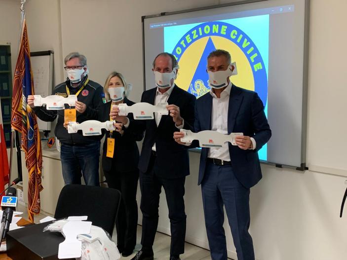 Covid 19: Presto in distribuzione le mascherine made in Veneto