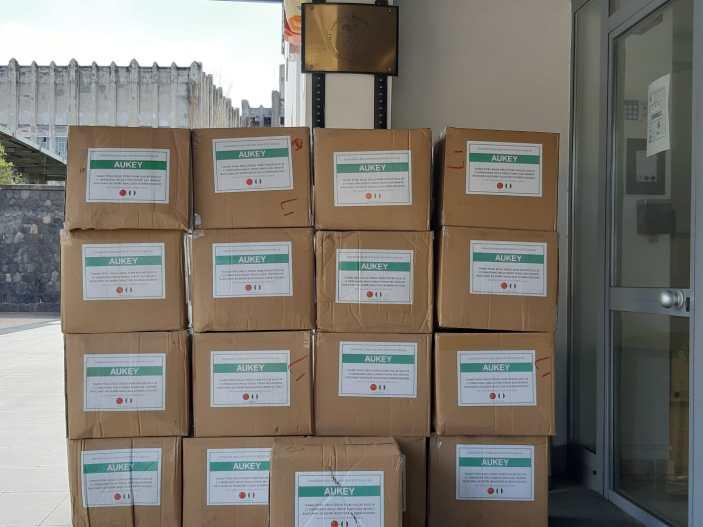 Covid 19: Dalla Cina 5.000 mascherine per i dipendenti SAPNA