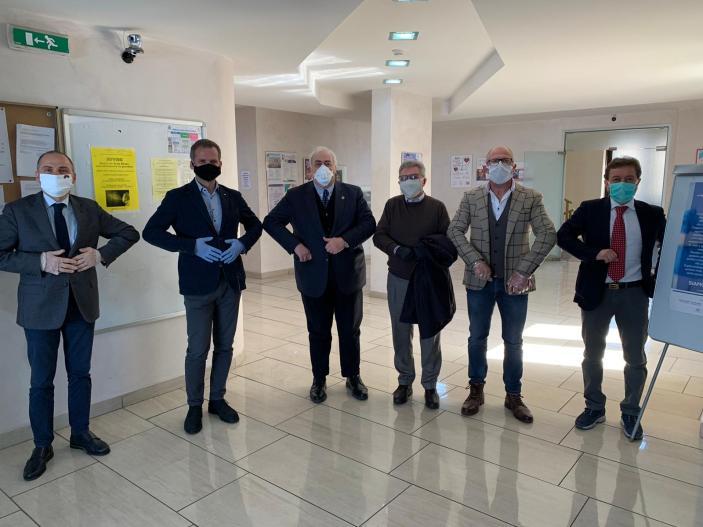 Il Consorzio Sannio dona materiale sanitario all'ospedale San Pio