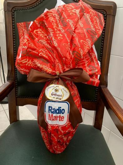 Radio Marte per il Cotugno: Uova di cioccolato a chi opera in prima linea