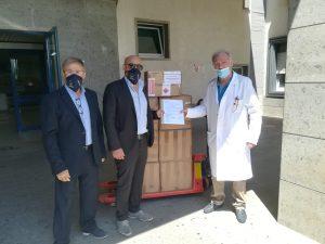 COVID-19: Donazione di presidi medici dalla Svizzera a Montecalvo Irpino