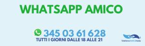 TELEFONO AMICO ITALIA POTENZIA IL SERVIZIO WHATSAPP