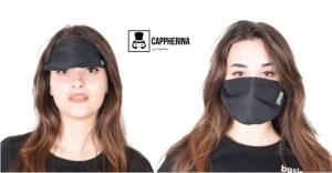 E' italiana la mascherina che diventa visiera