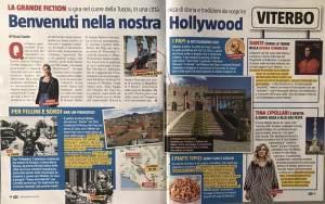 Viterbo su Tv Sorrisi e Canzoni, la Hollywood italiana