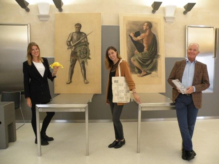 Al Bailo di Treviso esposte le due opere restaurate di Funi