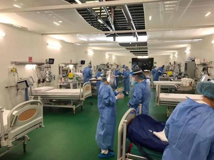 Bergamo, ospedale Alpini torna in prima linea