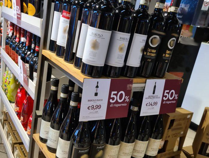 Gli autogrill ignorano i vini campani