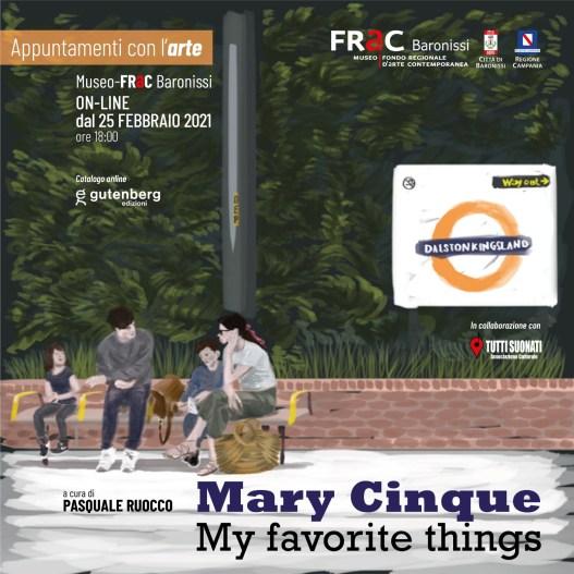 "Al FRaC la mostra di Mary Cinque ""My favorite things"""