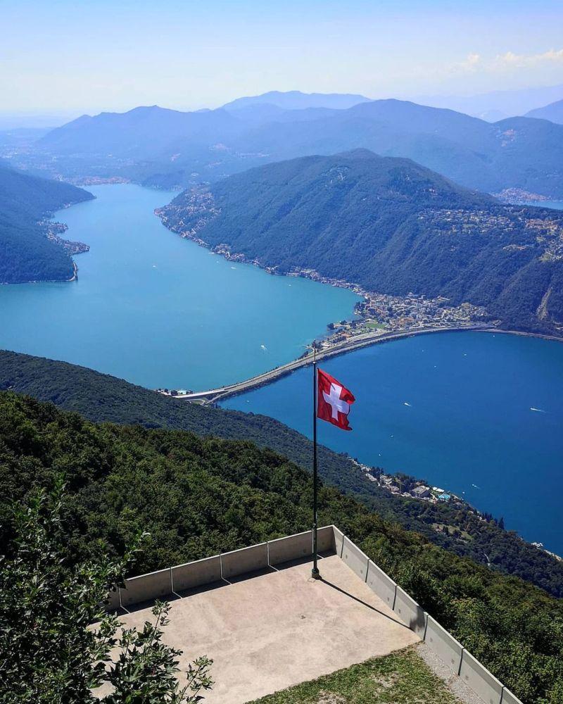 Punti panoramici Nord Italia: Monte Sighignola