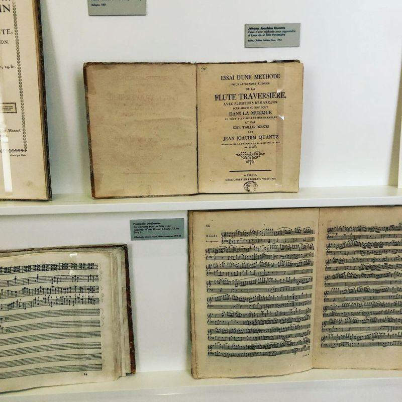 Spartiti custoditi nel Museo internazionale e biblioteca della musica a Bologna risalenti al periodo compreso tra Cinquecento e Settecento.
