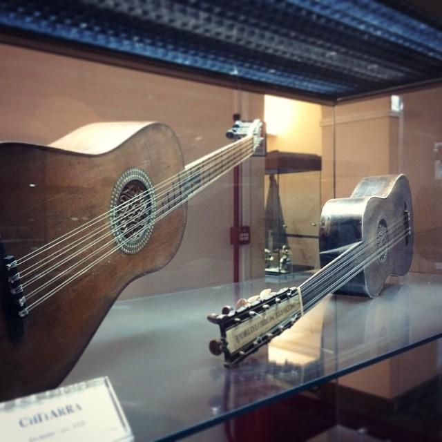 Musei gratis Roma: museo degli strumenti musicali