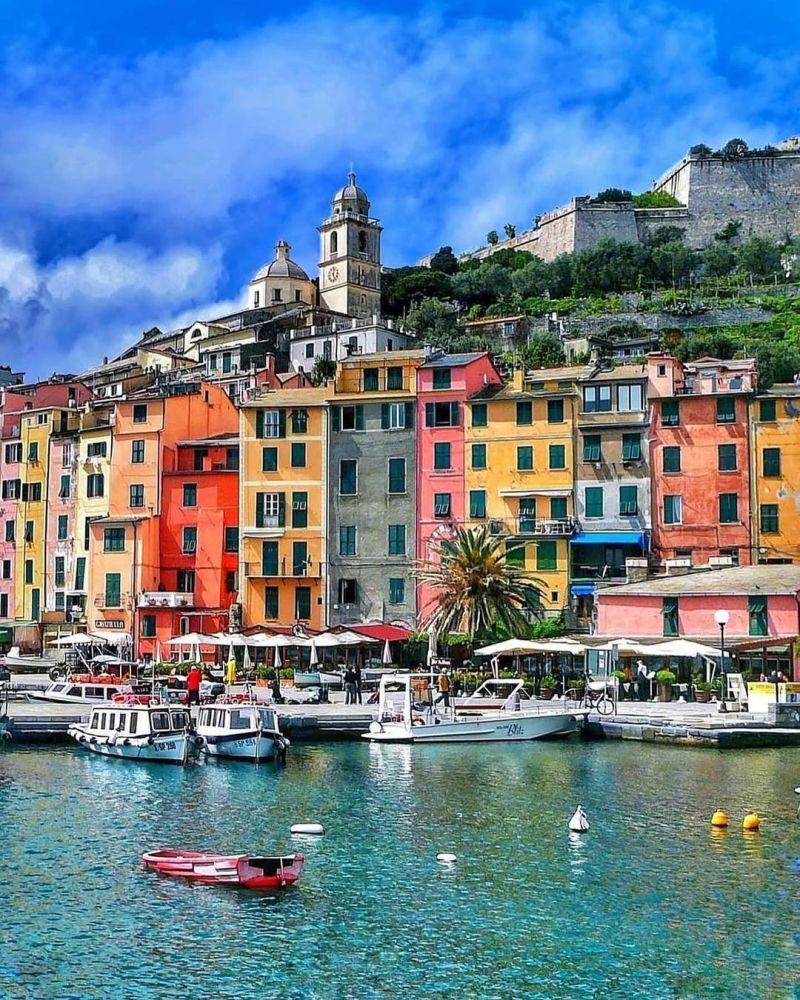 Punti panoramici Nord Italia: Portovenere