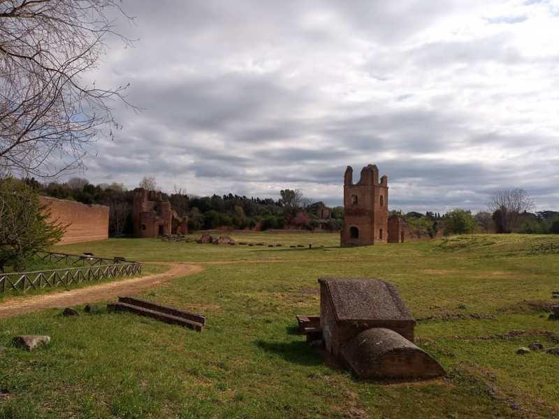 Musei gratis Roma: villa di Massenzio