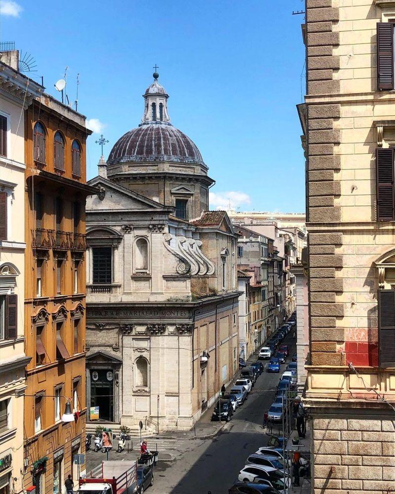 Roma storia quartieri famosi: Monti