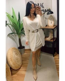 Vestido encaje 2901