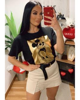 Camiseta mickey dorado 1202