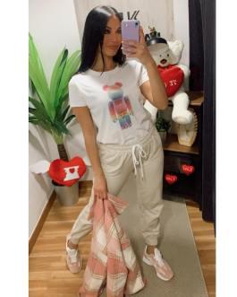 Camiseta osito colores 1202