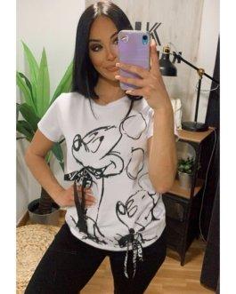 Camiseta mickey lazos
