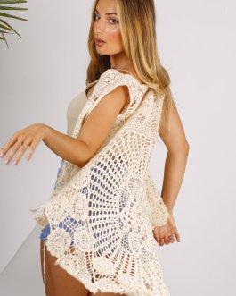 Chaleco crochet 1205